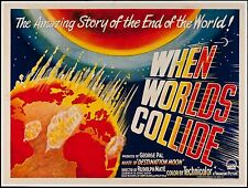 When Worlds Collide British Quad 30 X 40 from 1951