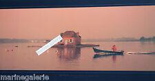 Bretagne zen décoration marine mer pêche poster photo couleur panoramique 67cm