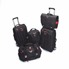 2014-2018 Corvette Stingray GM Black 5 Piece Luggage Set with Logos OEM 22970472