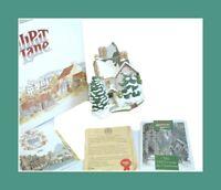 Lilliput Lane The Old Vicarage At Christmas Boxed