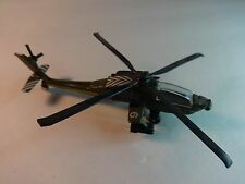 Hot Wings Super Dyna-Flites #A-209 Army Green Apache AH-64A Helicopter