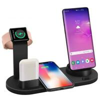 4 in 1 Wireless Charging Dock Station For Apple Watch iPhone