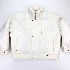 VTG 90s Bogner Women's Snowboard Ski Jacket Coat Goose Down White • Petite P