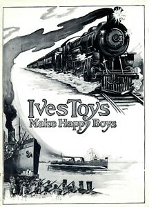 Ives 0-Gauge  Electric Mechanical Toy Trains 1918-1920 Catalog Reprint / Book