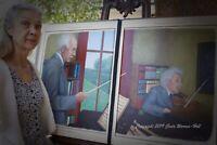 Herr Maestro Richard Strauss conducts Herr Doktor Einstein (Bound Book Frame)