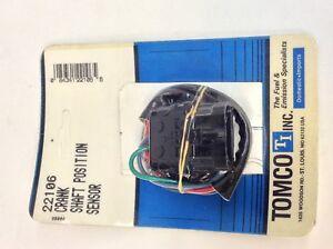 Engine Crankshaft Position Sensor Tomco fits 1985 Buick Somerset Regal 3.0L-V6