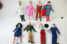 MEGO RETRO; SUPERMAN SERIES 2 & 3; BOTH SETS OF 8 INCH FIGURES NEW IN POLYBAG