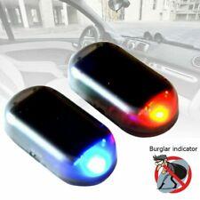 LED Auto Solar Alarmanlage Sicherheitssystem Dummy Diebstahlschutz Warnleuchte