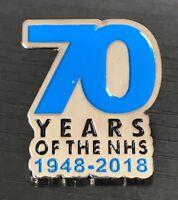 CHARITY 1948-2018 Nurse Thank You NHS UK Health Doctor Enamel Pin Badge Brooch