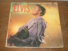 Original 1956 ELVIS PRESLEY Elvis Self Titled Album Record Cover NO RECORD POOR