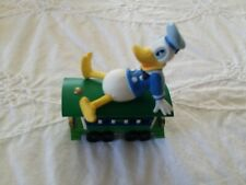 1998 Hallmark Donald Duck Passenger Car Merry Miniature Figurine Christmas Train