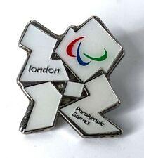 Londres Juegos Paraolímpicos 2012 Pin insignia oficial Raro Original LOCOG Pin
