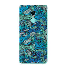 Case For Xiaomi Redmi Note 3 4 Pro 4X Soft TPU Silicone Phone Back Waves Cover