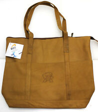 NCAA Maryland Terrapins Tan Leathern Women's Tote
