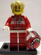 Lego 8803 Series 3 Minifig - Race Car Driver - Free Postage