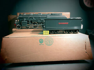 MTH Standard GA Gray  392E LOCOMOTIVE & TENDER WITH NICKLE TRIM IN MTH BOXES.