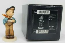 "Goebel Hummel Figurine Lucky Fellow 560 TMK7 3 5/8"" Tall with Original Box"