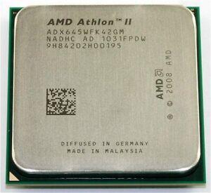 AMD Athlon II X4 645 ADX645WFK42GM 3.1GHz 2MB Socket AM3 4-Core CPU Processor