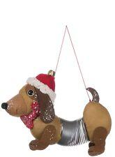 slinky dog dachshund christmas ornament 7 long by sullivans