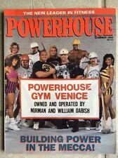 RARE Powerhouse Gym Magazine 1993 NPC IFBB BODYBUILDING VENICE BEACH
