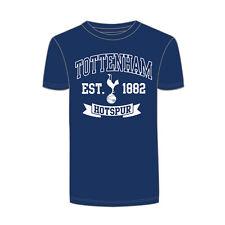 Official Licensed Product Tottenham Hotspur Mens Navy Established T-Shirt Small