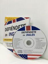 Defiéndete en Inglés con full size CD