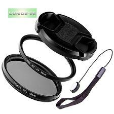 Filterset 58mm MC UV Polfilter Objektivdeckel passt zu Nikon AF-S 50mm 1.8 1.4
