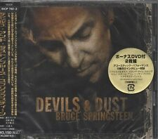 BRUCE SPRINGSTEEN Devils and Dust JAPANESE CD + DVD BRAND NEW - STILL SEALED