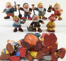 Schneewittchen und die 7 Zwerge === Walt Disney 7 Figuren PVC NO TOXICO