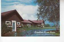 Fredom Acres Farm and Map Wilmot Flat  NH  PC Size