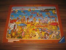Am Strand On the Beach Ravensburger Didacta Puzzle 1987 Retro Rarität