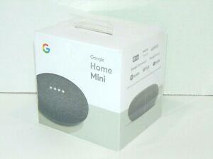 Google Home Mini (1st Gen) Bluetooth Smart Speaker-Charcoal (GA00216-US) (K2)
