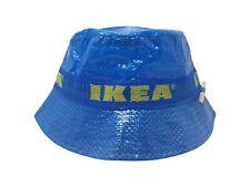 Ikea Seau Chapeau Avec Crayon Fait à la Main Casquette Mode Rue Vêtement Bleu