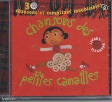 CD Chansons des petites canailles 30 titres NEUF sous cellophane
