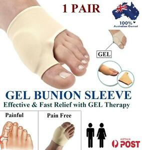 NEW Gel Bunion Protector Toe Separator Straightener  Pain Relief Foot Pad Sleeve