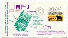 1973 Explorer 50 IMP-J Delta Cislunar Radiation Magnetosphere Kennedy Space SAT