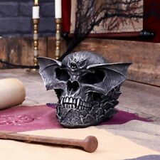 More details for spiral dark gothic bat skull pagan figurine ornament resin new boxed nemesis now