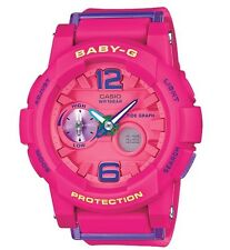 Casio Baby-G * BGA180-4B3 Anadigi G-Lide Pink Resin Watch Women COD PayPal MOM17