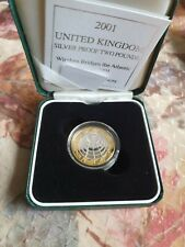 More details for 2001 uk marconi silver proof £2 coin