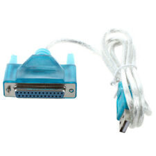 New 6FT USB to 25 PIN DB25 Female PARALLEL PRINTER Adapter Port Cable PC WS L4S3