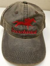 Secretariat Meadow Stable Barn Hat Cap Race Horse Racing 100% Cotton NEW