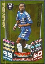 TOPPS MATCH ATTAX 2012-13- #476-CHELSEA-ASHLEY COLE-LEGEND-GOLD FOIL