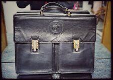 Rare Gianni Versace Vintage Leather Bag/Briefcase