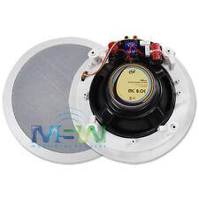 "PBX PowerBass® HOME AUDIO MC-8.0C 8"" 2-Way CINEMA THEATER IN-CEILING SPEAKERS"
