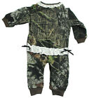 NEW Baby Girls Mossy Oak Break Up Camo Creeper With Lace & Bows 18-24 Month
