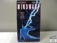 Mindwarp VHS Bruce Campbell, Angus Scrimm