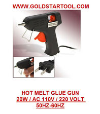 Mini Electric Trigger Hot Melt Glue Gun 20 Watt Black