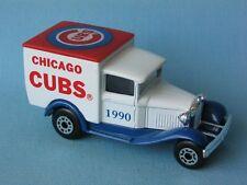 Matchbox Mb-38 Ford Model A Van Chicago Cubs Baseball pre-producción Raro