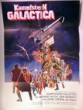 Original 1979 GERMAN Poster BATTLESTAR GALACTICA # 1