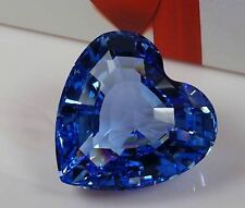 Free shipping Swaroski Crystal SCS 1997 Blue Heart - Renewal Gift - Mint in Box